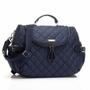 Other - Storksak navy blue diaper bag